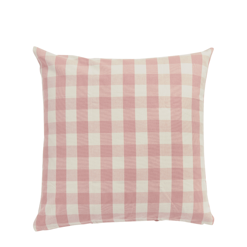 Pink Vichy Cushion