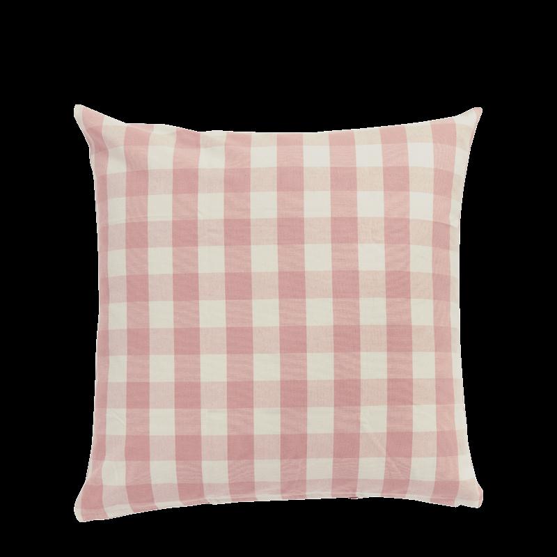 Pink Vichy Cushion