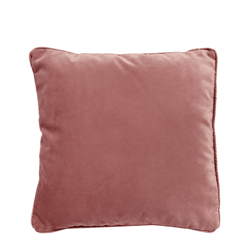 Old Rose Velvet Cushion