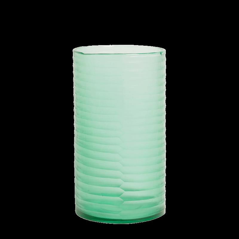 Hurricane Large Candelabra in Emerald