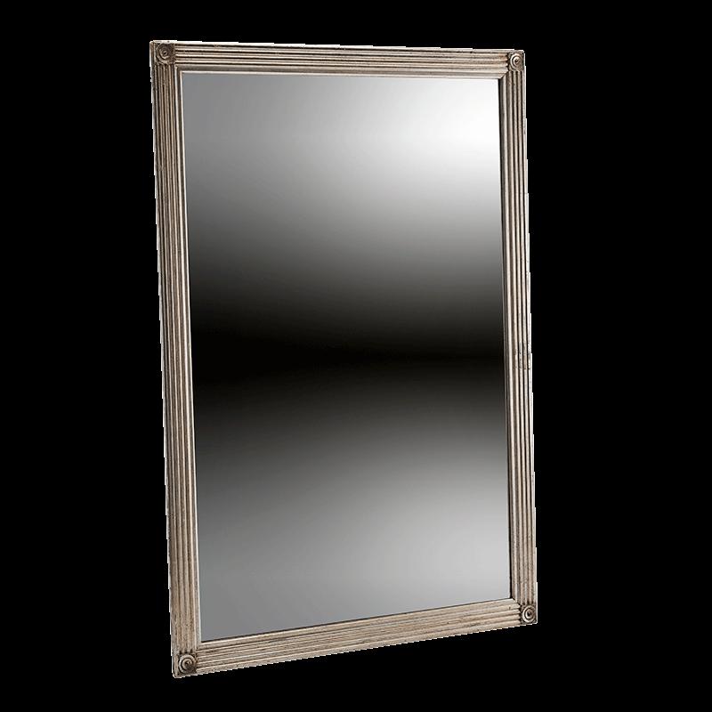 Verona Mirror in Silver