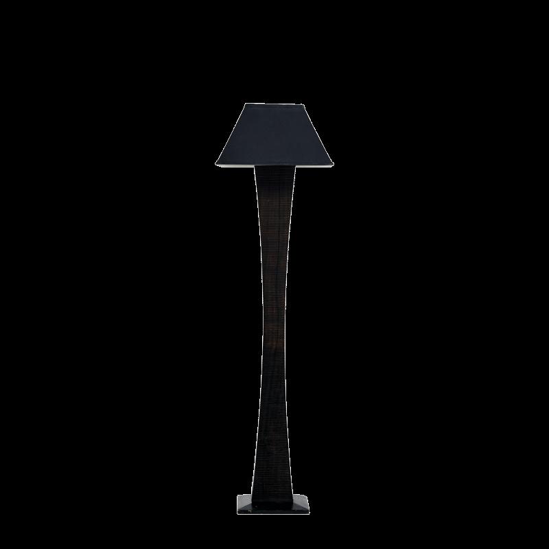 Wenge Floor Lamp