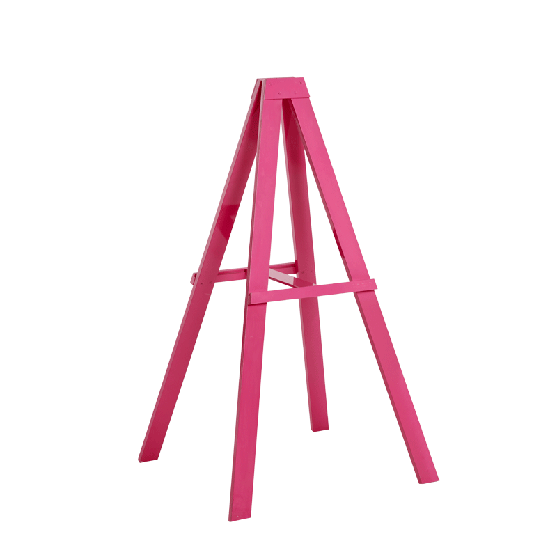 Seattle Easel in Pink