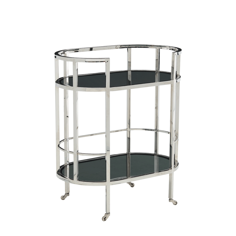 The Collection Drink Trolley in Platinum