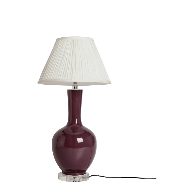 Ivana Lamp in Plum
