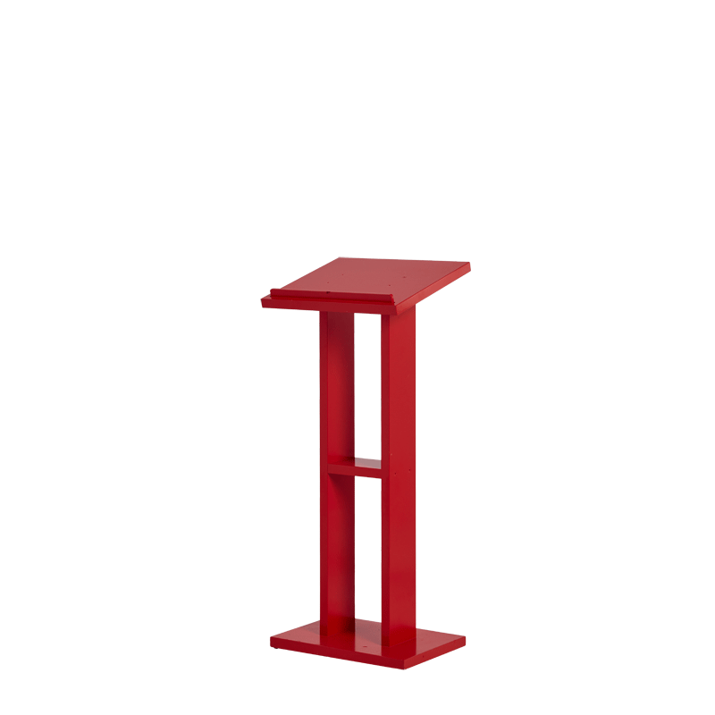Seattle Lectern in Red