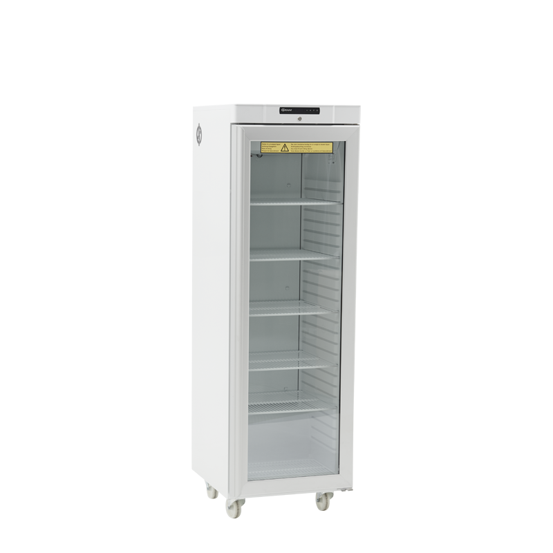 Fridge with front glass door capacity 265 L