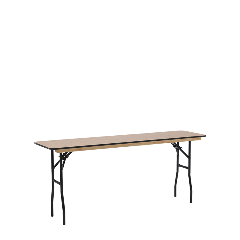 Slim Trestle Table 180 x 46 cm