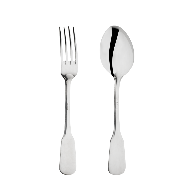 Stainless steel service sets