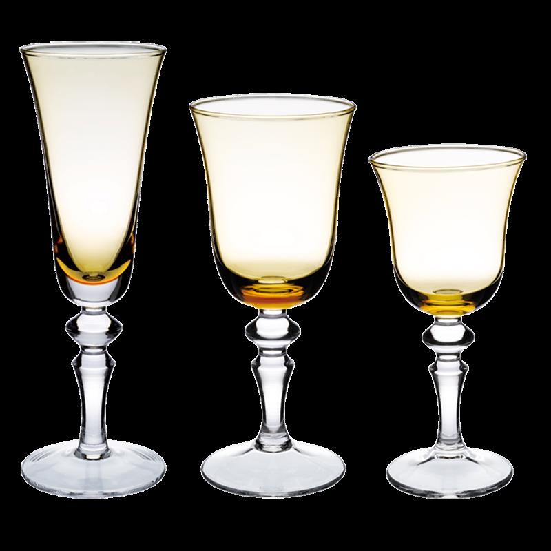 Amber Glasses