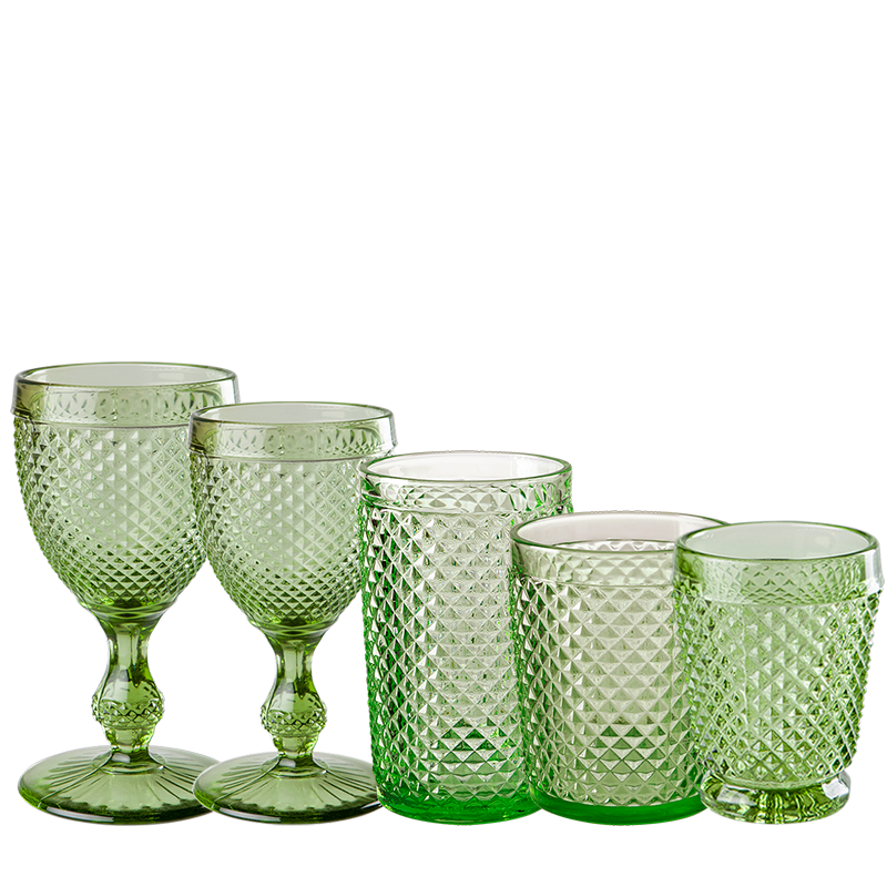 Green Tourmaline Glass