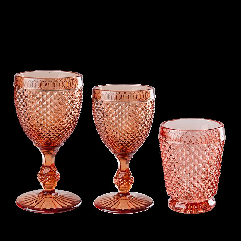 Pink Tourmaline glass