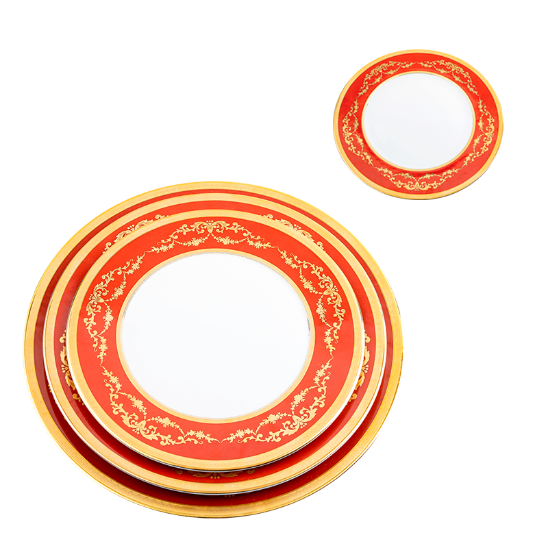 Imperial Red Plates