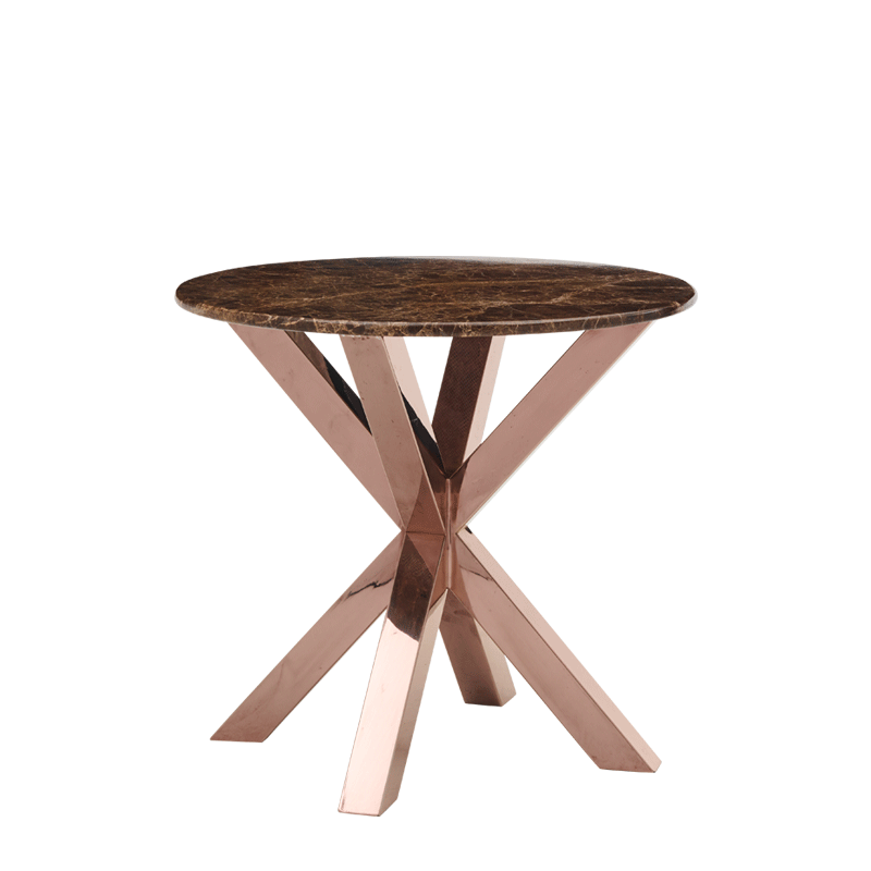 Cognac Occasional Table