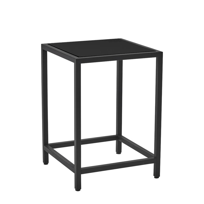 Unico Square Occasional Table with Black Frame