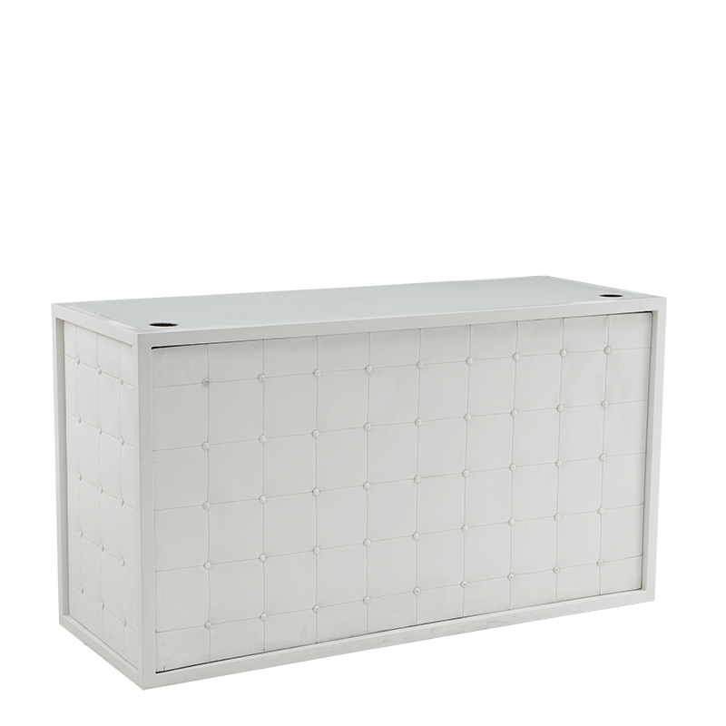 Unico DJ Booth with White Frame
