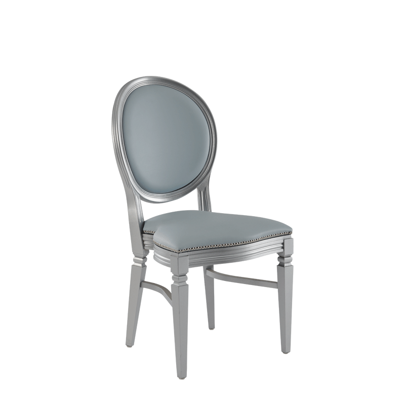 Chandelle Chair in Silver