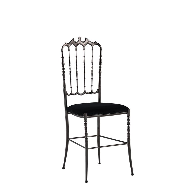 Napoleon Chair in Gunmetal