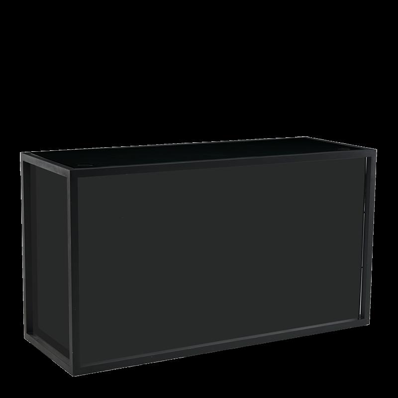 Unico Rectangular DJ Booth with Black Frame