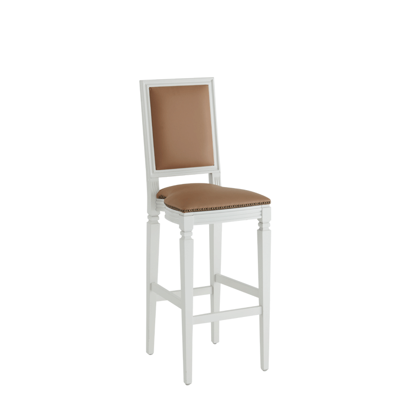 CKC Bar Stool in White