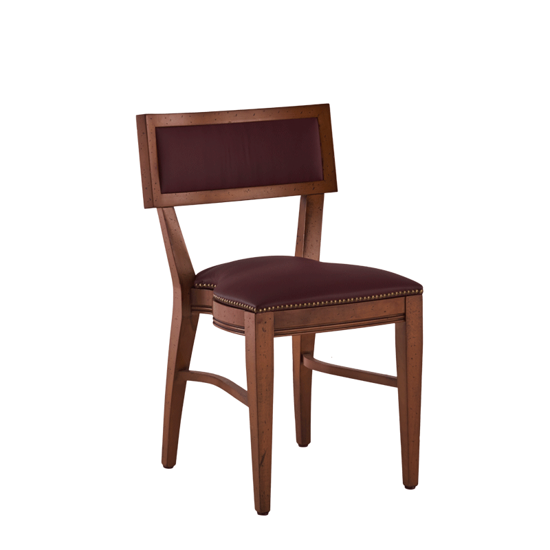 The Bogart Chair in Antique Wood