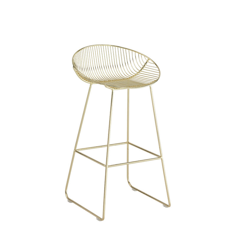 Gianni Round Bar Stool