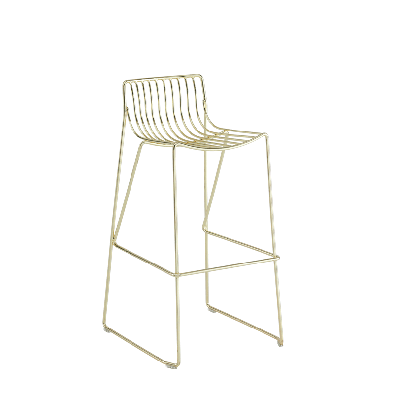 Gianni Square Bar Stool