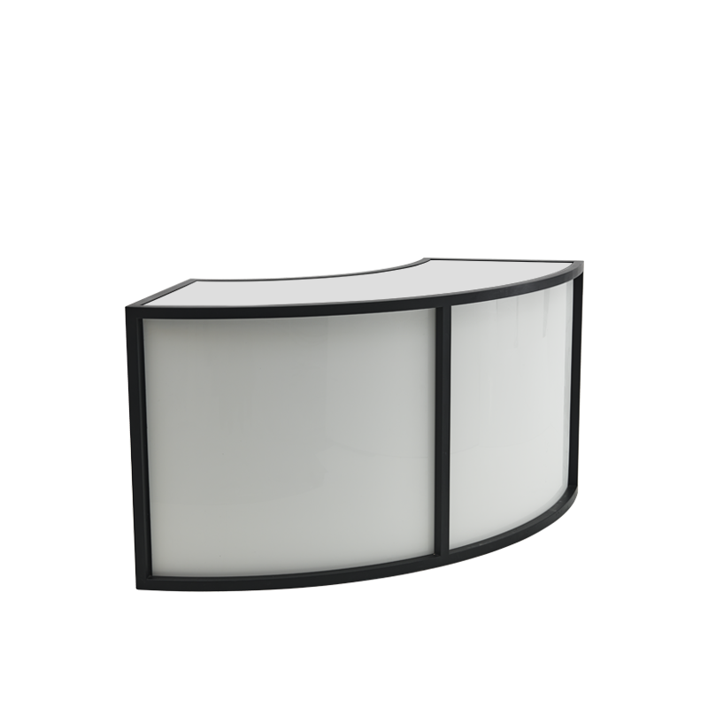 Unico Curved Bar with Stainless Steel Frame