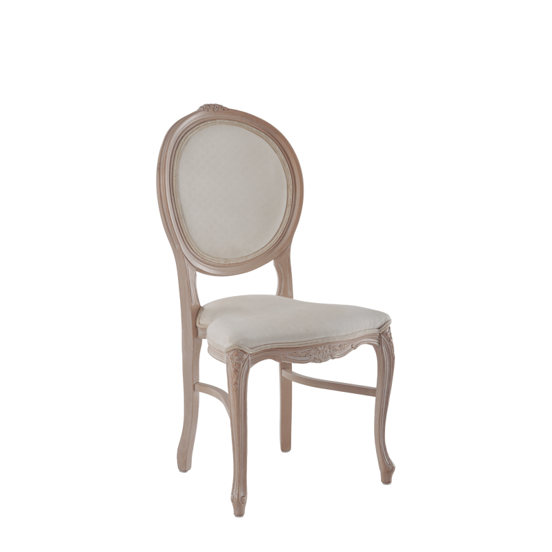 Louise Chair in Ivory