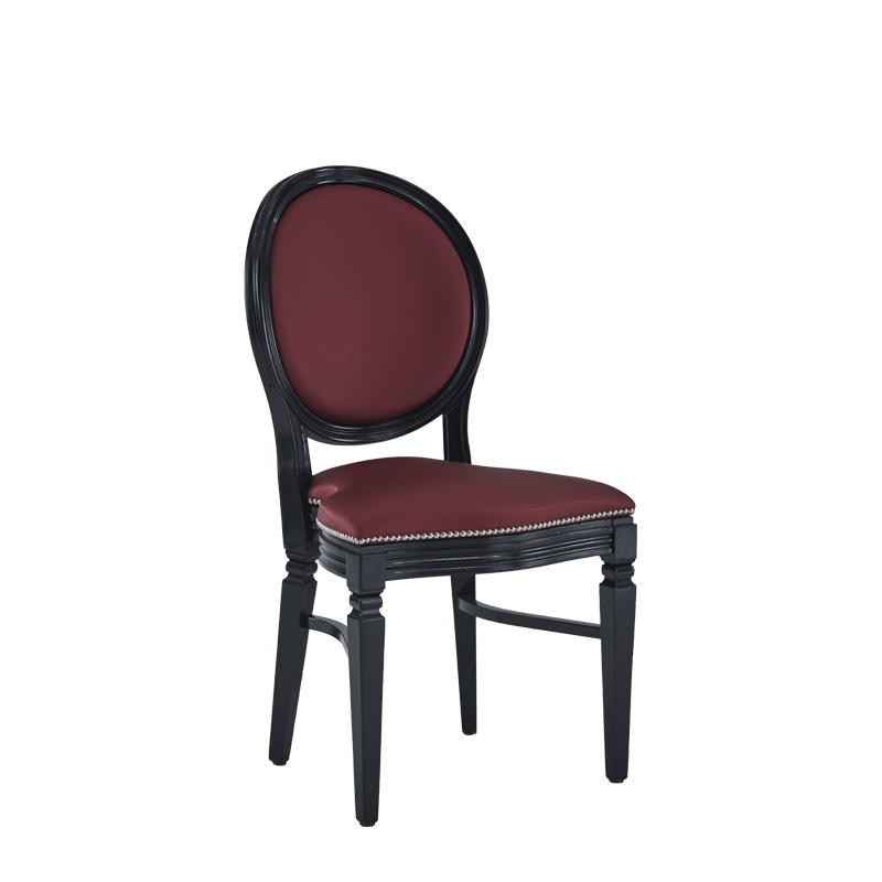 Chandelle Chair in Black
