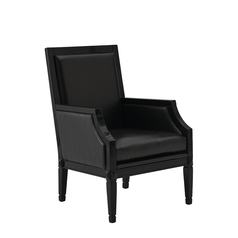 Havana Armchair in Black