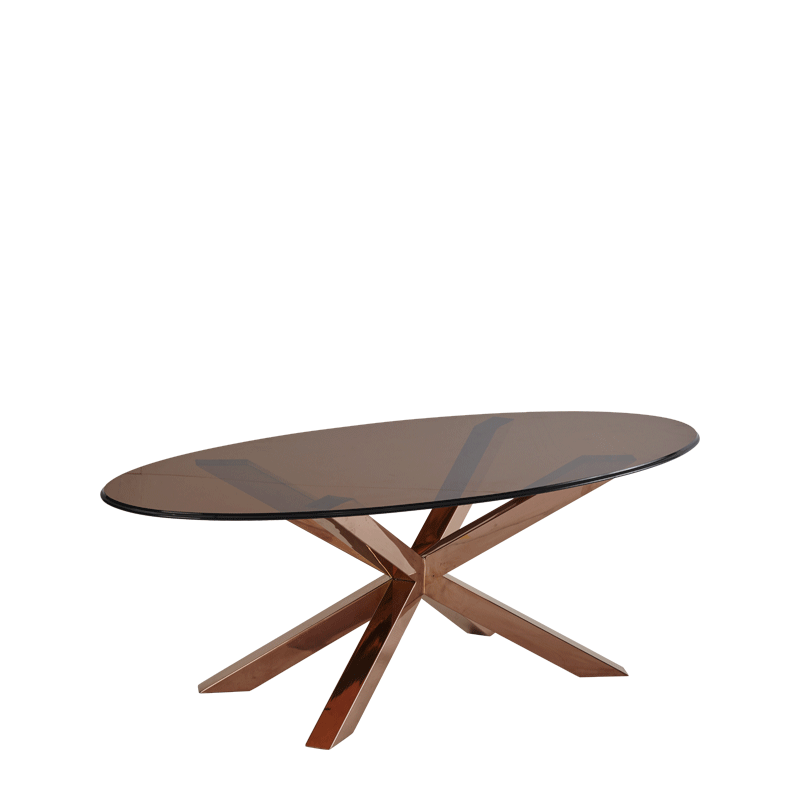 Cognac Coffee Table