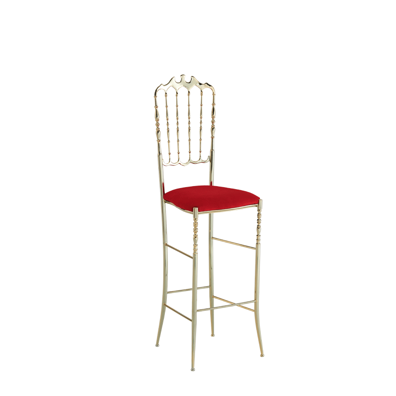 Napoleon Bar Stool in Gold