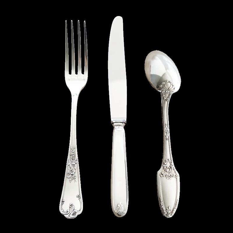Silver Vintage Cutlery