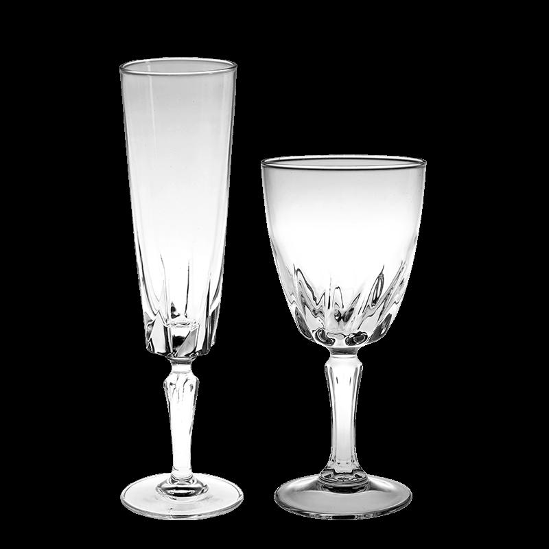 Vintage cristal glass