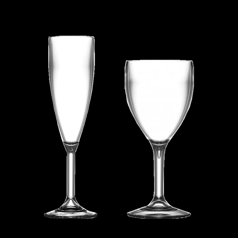 Polycarbonate glasses