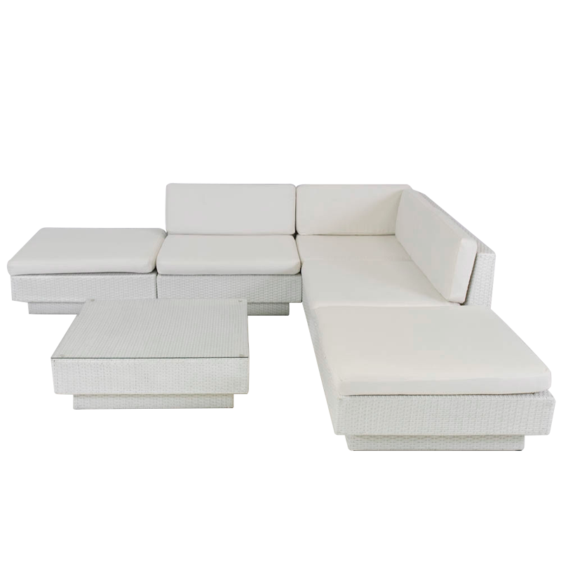 Marseille sofa set in White