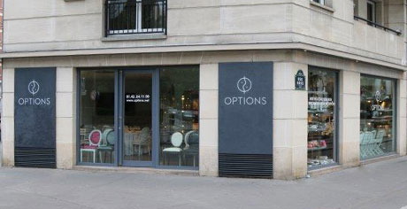 Showroom Options Paris